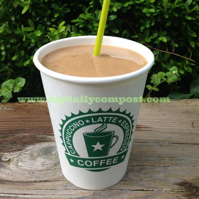 date almond coffee freeze